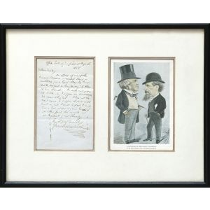Autograph letter signed to Henry Morley.
