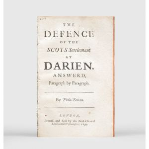 The Defence of the Scots Settlement at Darien, Answer'd, Paragraph by Paragraph.