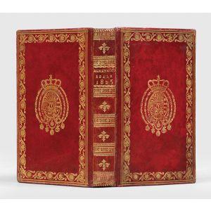Almanacco della Real Casa e Corte per l'anno 1825.