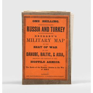 Russia & Turkey: Gregory's Map of the Seat of War on the Danube, Baltic, & Asia, Shewing the Position of the Hostile Armies.