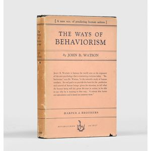 The Ways of Behaviorism.