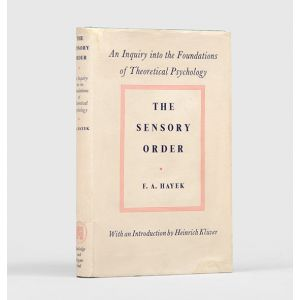 The Sensory Order. An Inquiry into the Foundations of Theoretical Psychology.