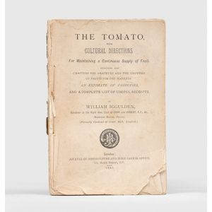 The Tomato, with Cultural Directions For Maintaining a Continuous Supply of Fruit.