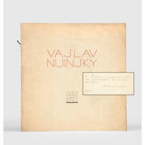 Vaslav Nijinsky. Six Vers de Jean Cocteau. Six Dessins de Paul Iribe.