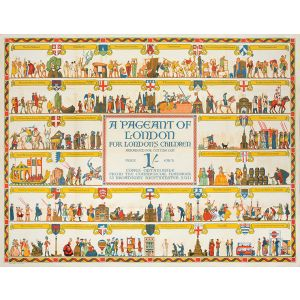 A Pageant Of London For London's Children Arranged For Cutting Out.