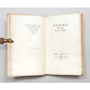 Poems 1909-1925.