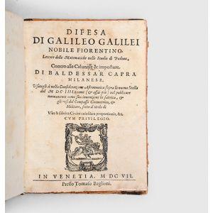Difesa... Contro alle Calunnie & imposture di Baldessar Capra Milanese,