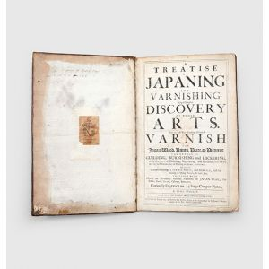 A Treatise of Japaning and Varnishing,