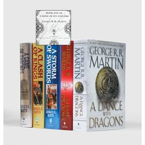 [A Game of Thrones: A Song of Ice and Fire saga:]