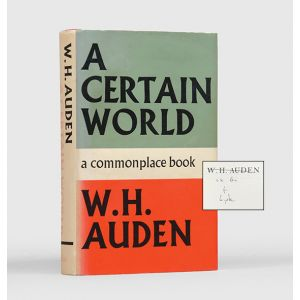 A Certain World. A Commonplace Book.
