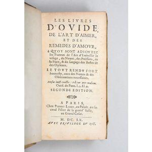Les livres d'Ovide, De l'art d'aimer, et Des remedes d'amour,