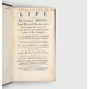 The Life of General Monk: Late Duke of Albemarle;