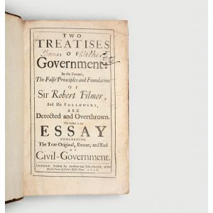Two Treatises of Government: