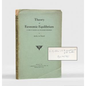 Theory of Economic Equilibrium.