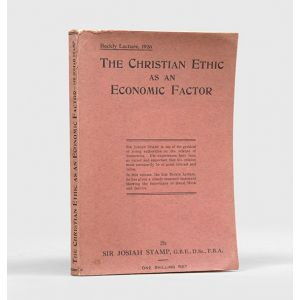 The Christian Ethic as an Economic Factor,