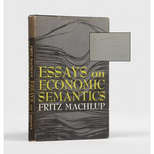 Essays on Economic Semantics.