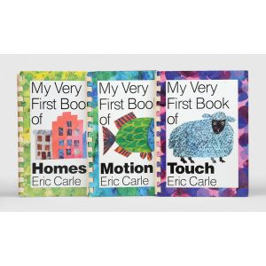 My Very First Book of Homes [and:] My Very First Book of Motion [together with:] My Very First Book of Touch.