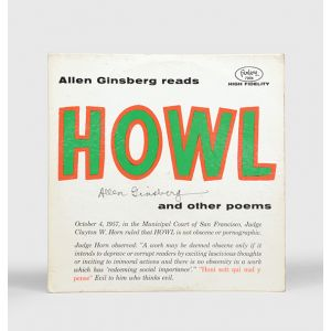 Reads Howl and other poems.