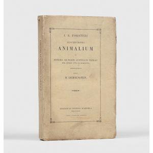Descriptiones animalium, quae in itinere ad maris Australis terras per annos 1772, 1773 et 1774