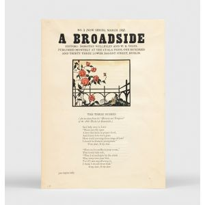 A Broadside: No. 3 (New Series).