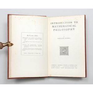 Introduction to Mathematical Philosophy.