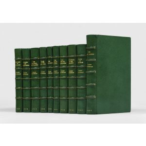 Complete set of works published in the author's lifetime, all first editions.