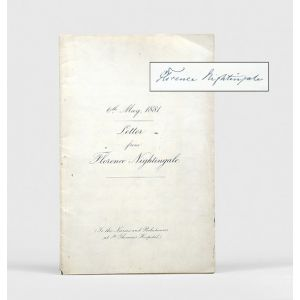 Facsimile autograph letter signed, to the Nurses and Probationers at St. Thomas's Hospital.