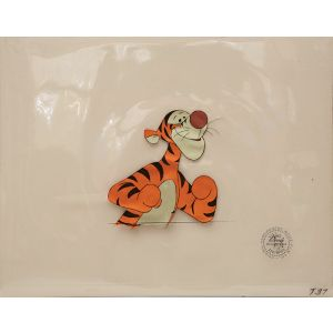 Tigger from The Many Adventures of Winnie the Pooh.