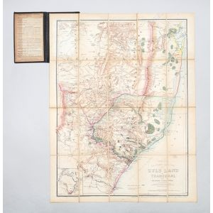 Wyld's Large Scale Military Sketch Map of Zulu Land.