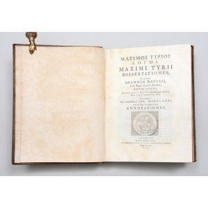 Maximi Tyrii Dissertationes,
