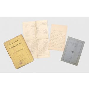Documents relating to Baron Maurice de Hirsch's concessions to build and operate the Ottoman Empire's railway lines from Constantinople to Vienna.
