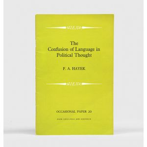 The Confusion of Language in Political Thought.