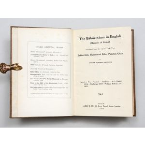 The Bābur-nāma  in English (Memoirs of Bābur).