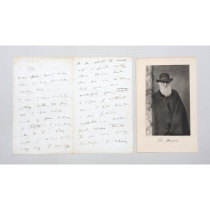 Autograph letter signed to Sir Henry Holland.