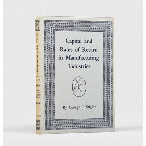 Capital and Rates of Return in Manufacturing Industries.