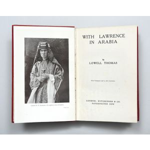 With Lawrence in Arabia.