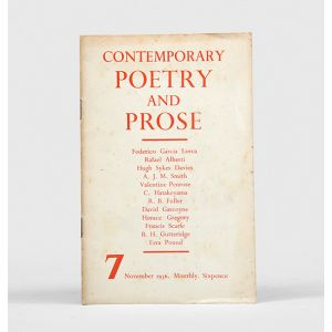 Contemporary Poetry and Prose.