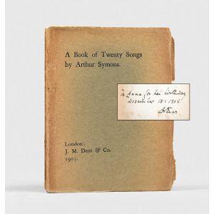 A Book of Twenty Songs.