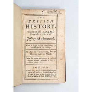 The British History, Translated into English From the Latin.