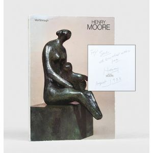 Henry Moore 85th Birthday Exhibition. Stone Carvings - Bronze Sculptures - Drawings.