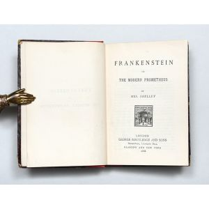 Frankenstein: or, The Modern Prometheus.