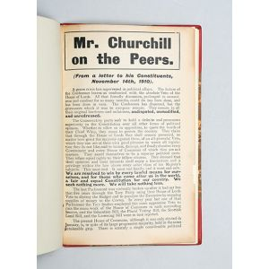 Mr. Churchill on the Peers.
