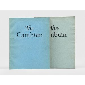 The Cambian. Wherein is Set Forth Some of the Work Done by the Students of the Camberwell School of Arts and Crafts with Dissertations by their Professors.