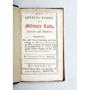 The Institutions of Military Law, Ancient and Modern: