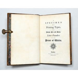 A Specimen of Printing Types by Joseph Fry and Sons, Letter-Founders to the Prince of Wales.
