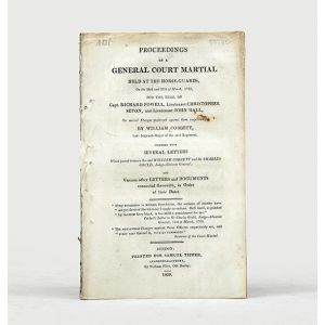 Proceedings of a General Court Martial