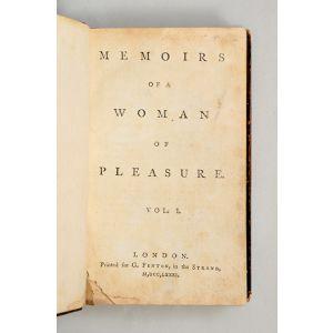 Memoirs of a Woman of Pleasure.