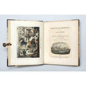 Greenwich Hospital, a Series of Naval Sketches, Descriptive of the Life of a Man-of-War's Man … By an Old Sailor.