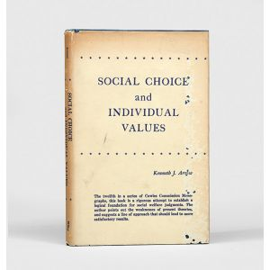 Social Choice and Individual Values.