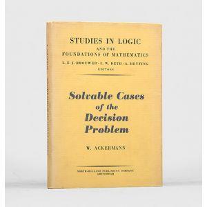 Solvable Cases of the Decision Problem.